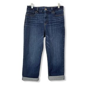 Chico's NEW So Lifting Cropped Capri Jeans Stretch